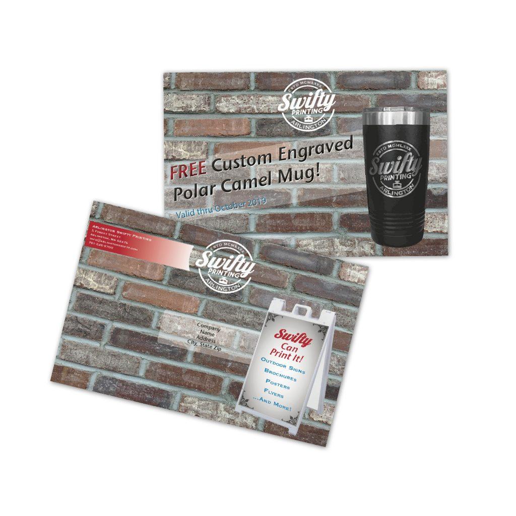 Arlington Swifty - Post Card Printing