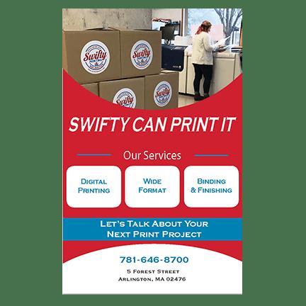 Arlington Swifty - Poster Printing